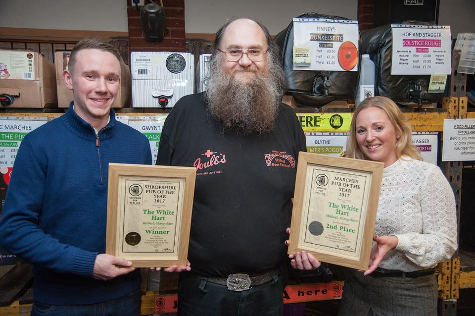 CAMRA Shropshire Pub of the Year 2017
