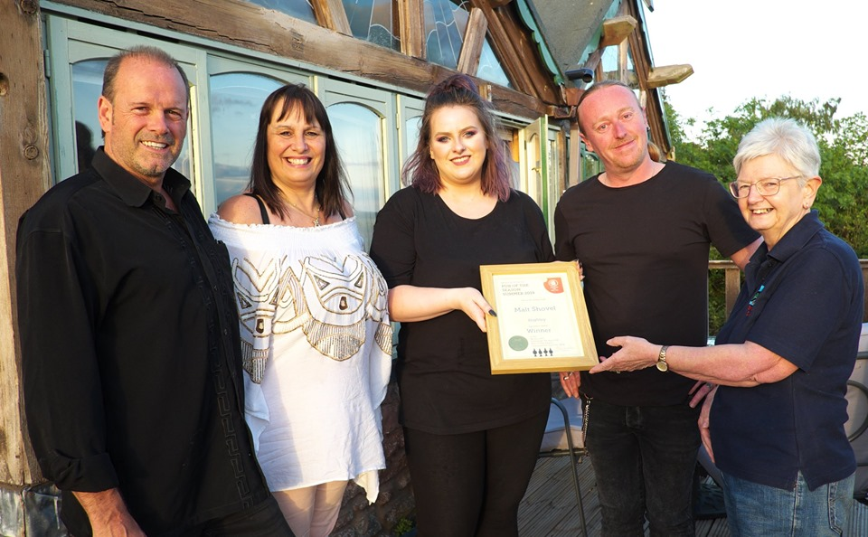 The Malt Shovel, Highley awarded Pub of the Season Summer 2019