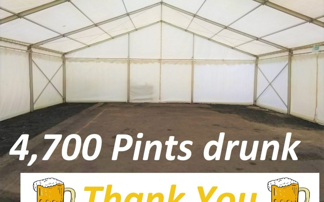 2019 Bridgnorth Beer Festival – a great success!